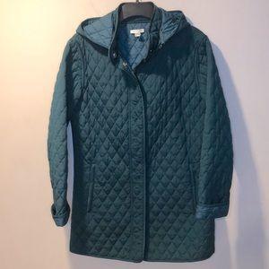 Garnet Hill Essential quilted coat lightweight 6